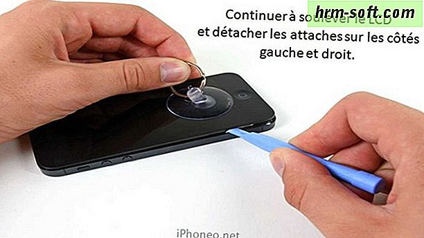 Comment changer LCD iPhone 4