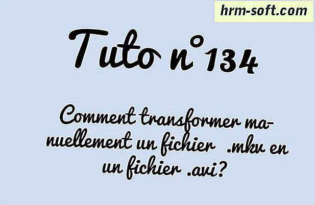 Comment transformer MKV en AVI
