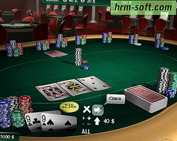 Poker Texas Hold em multiplayer