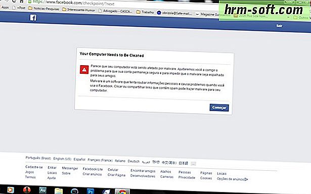 Como remover a sincronização do Facebook