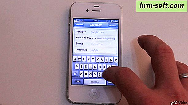 Como sincronizar contatos do iPhone com o Gmail