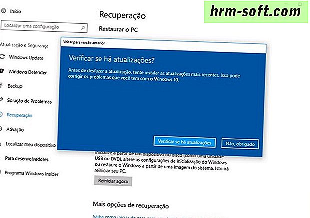 Como reinstalar o Windows 10