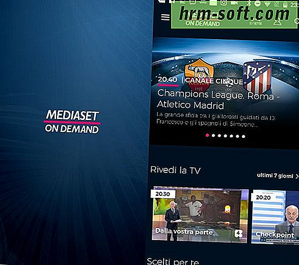 mediaset on demand su pc